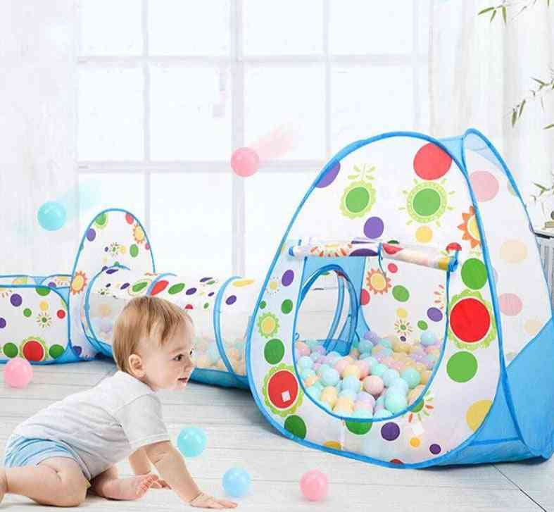 Baby Ball Pool Kids Ball Pit Playground Game Playhouse Activity - Dry Pool Toy For Indoor Game Tents