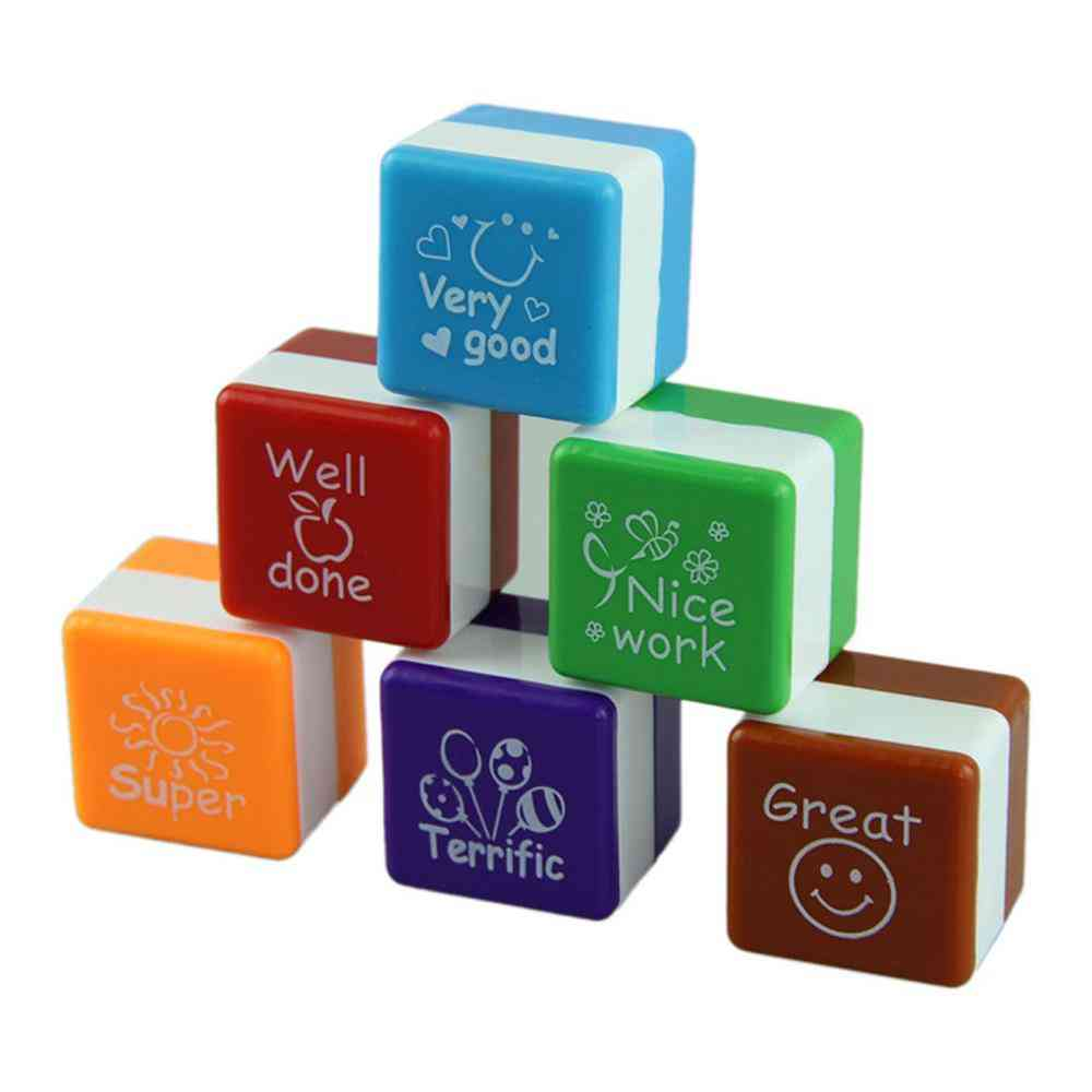 Water Self-inking, Cute Kid Stamp For Teacher Comment, Praise And Reward To Students