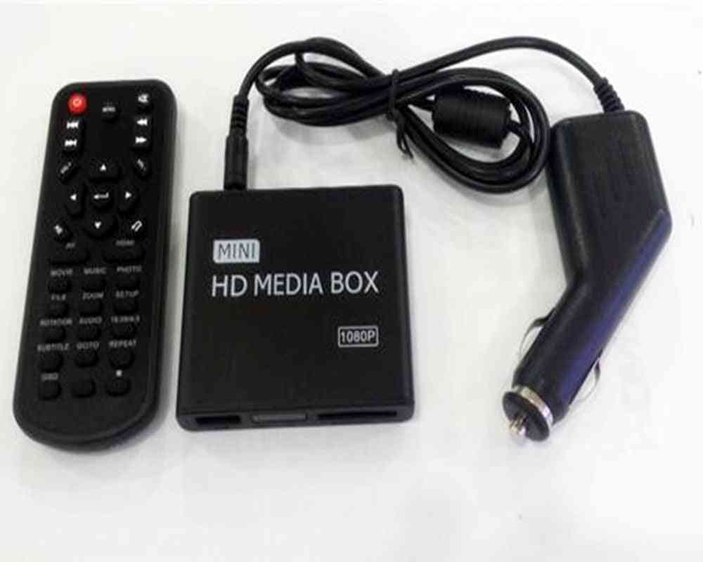 Full Hd 1080p Mini Media Player For Car