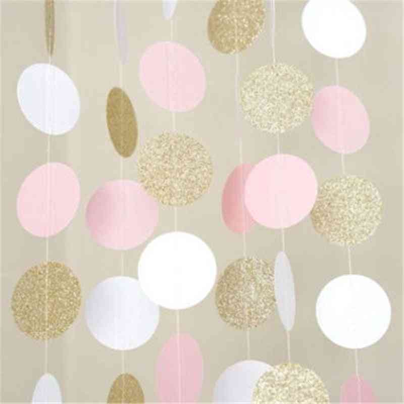 Glitter Circle Polka Dots- Happy Birthday Party Baby Hat