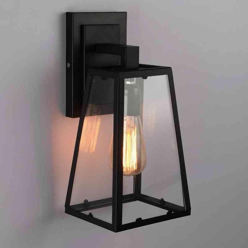 Vintage Style, Waterproof Outdoor Wall Lamps