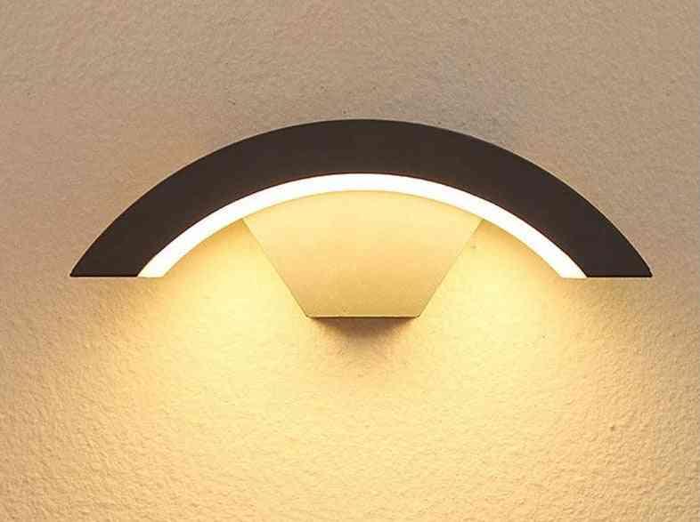 Modern Indoor/outdoor Led, Motion Sensor Wall Light