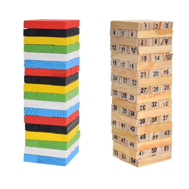 Creative Novel Wooden Digital Building Block Brain Game, Entertainment Intelligence Interaction