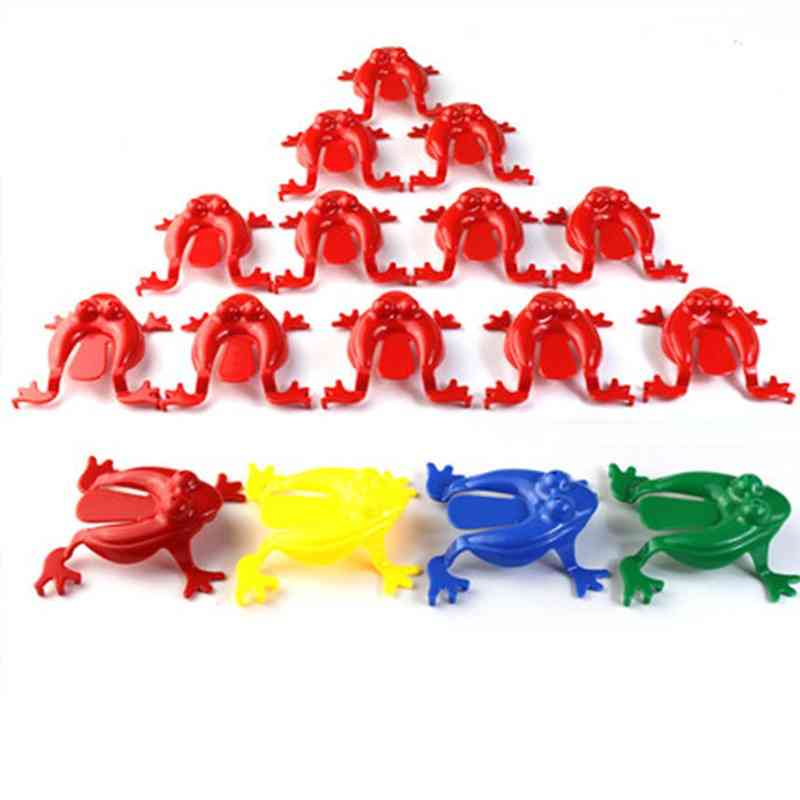 Action Figures For Kid Assorted Jumping Frogs Novelty Hoppers Game, Educational