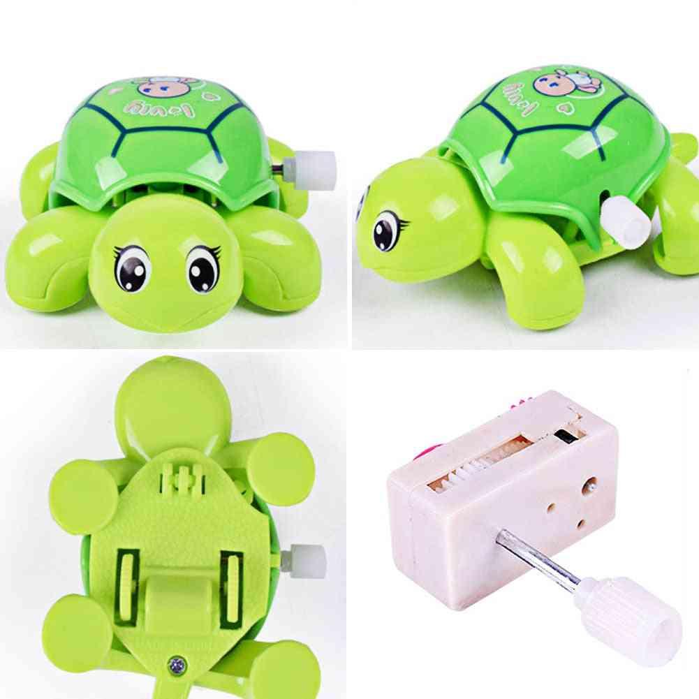 Mini Clockwork Tortoise For - Cute Little Animal Wind Up Toy For Kids