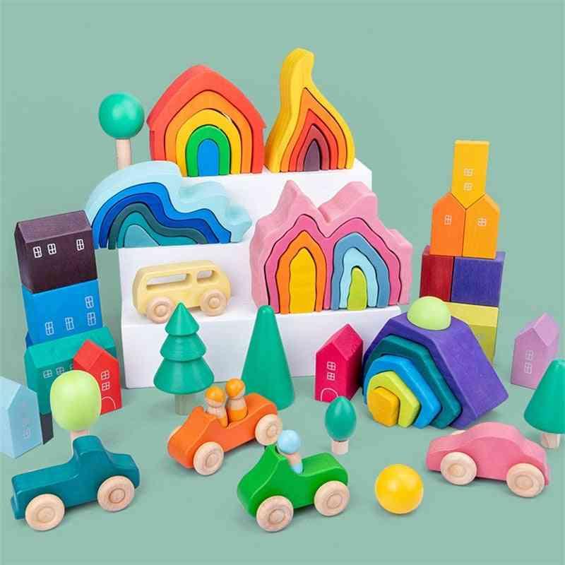 Building Blocks Montessori Educational Toy