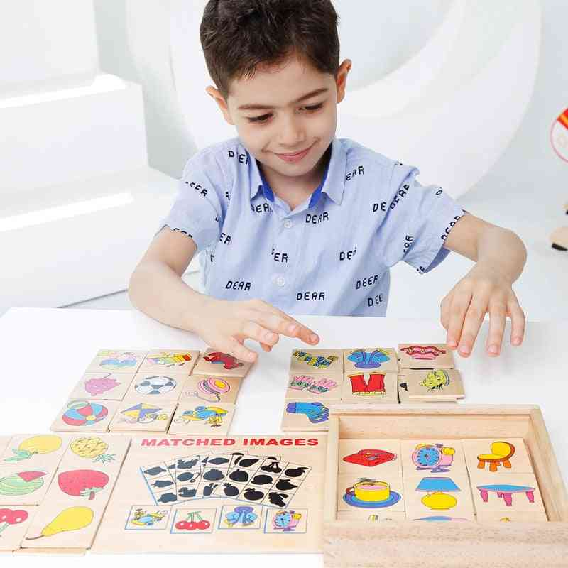 Wooden Puzzles Hand Grab Boards - Educational