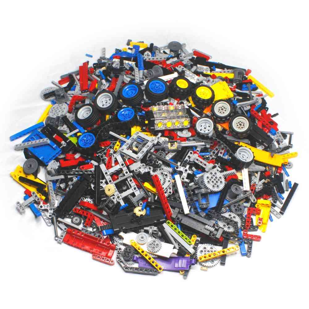 Bulk Technic Parts To Create Personal Moc - Spare Pieces