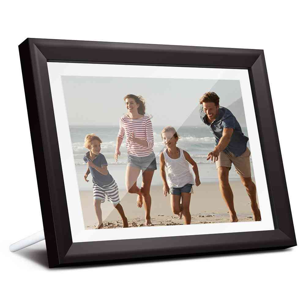 Dragon Touch Digital Photo Frame - 10 Inch Led Ips Touch Screen