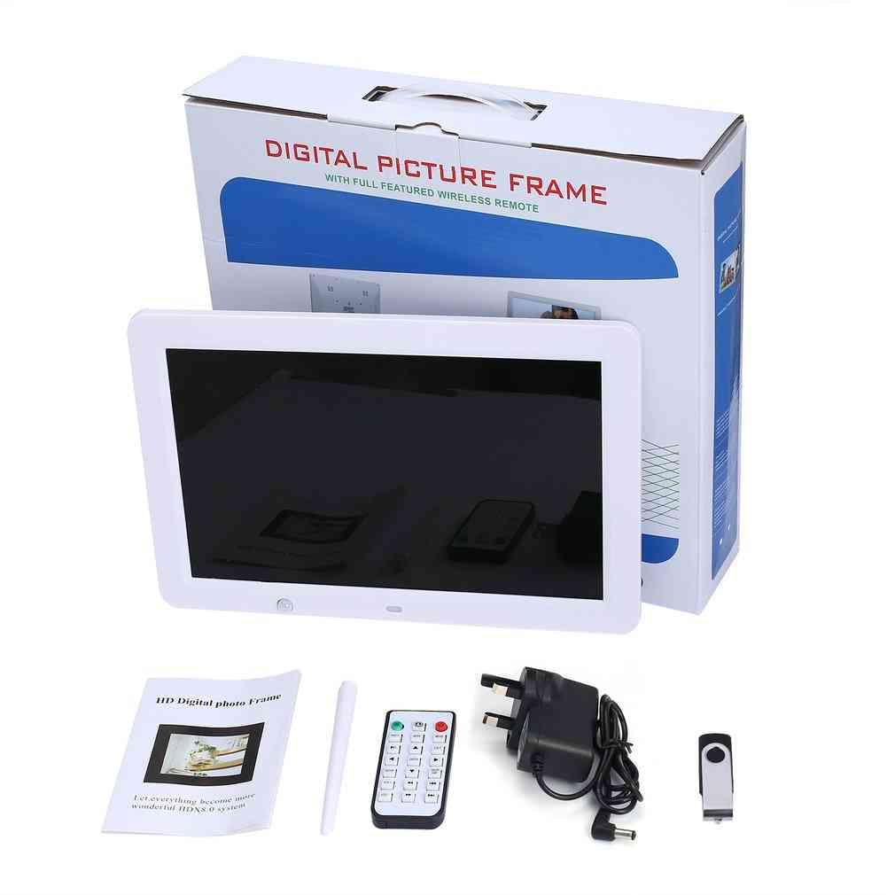 12 Inch Hd Digital Photo Frame Motion Sensor & 8gb Memory