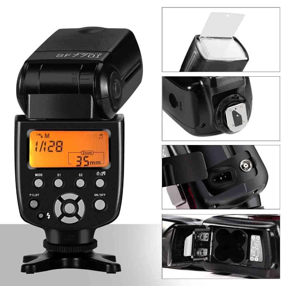 Flash Speedlite For  Digital Cameraswith Standard Flash