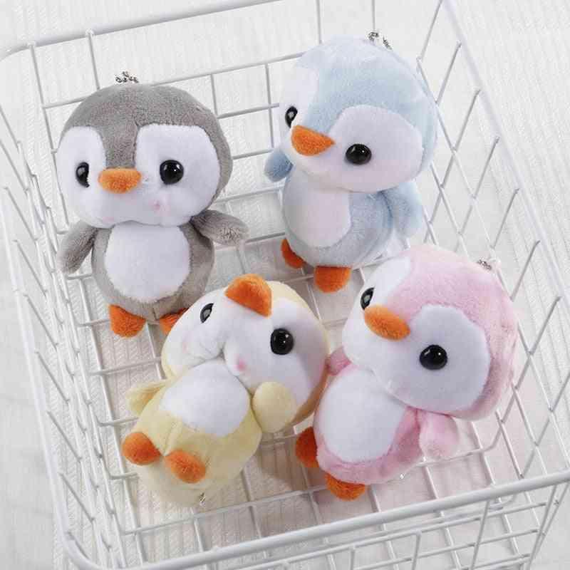 Penguin Shape, Soft And Stuffed Keychains Pendant