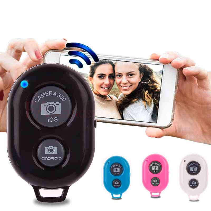 Wireless Shutter Remote Control Phone Self Timer Button Camera Controller Adapter Photo Control For Iphone