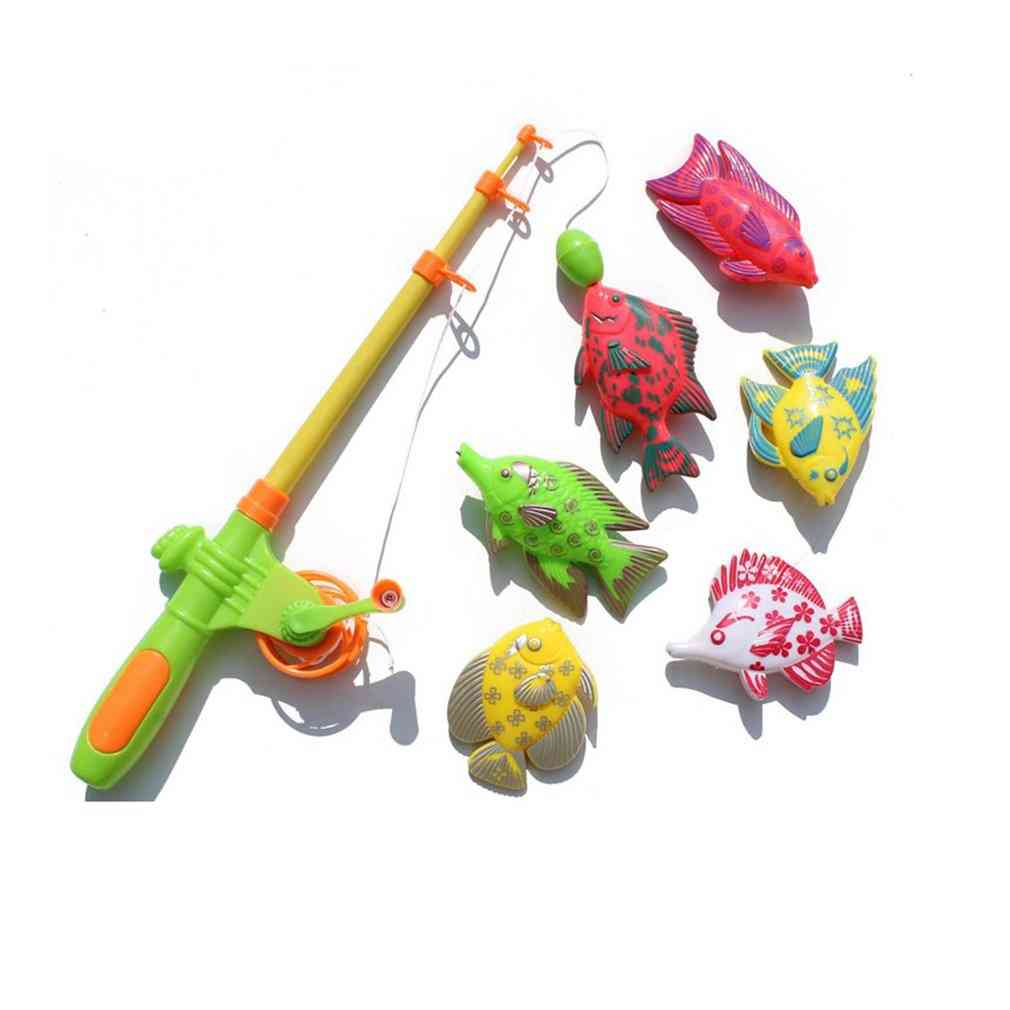 Creative Magnetic Fishing Toy Set For Learning - Education Play Set
