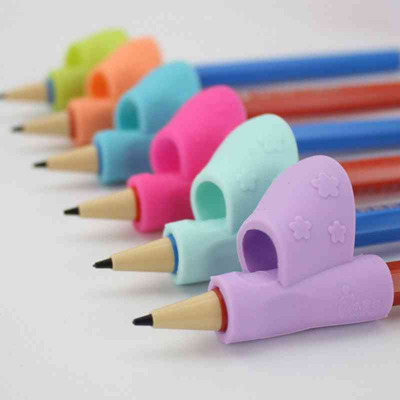 Writing Corrector Pencil Grip Montessori Learning Holding Device Correcting Pen Holder