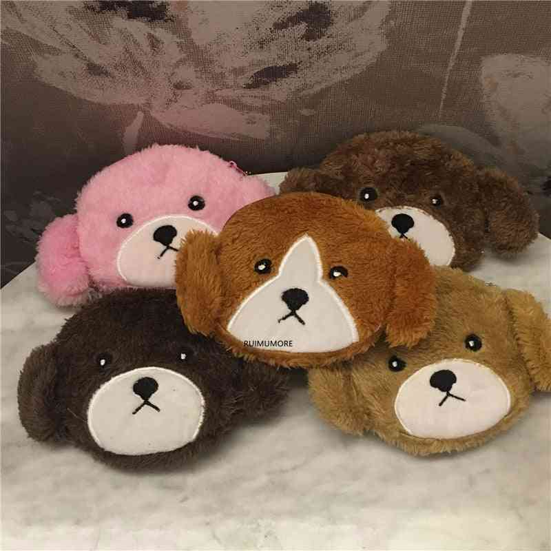 Little Girl's Dog Plush Purse, Bag Toy