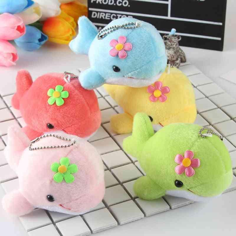 Cute Dolphin Kawaii Soft Pp Cotton Stuffed Animal Plush Toy