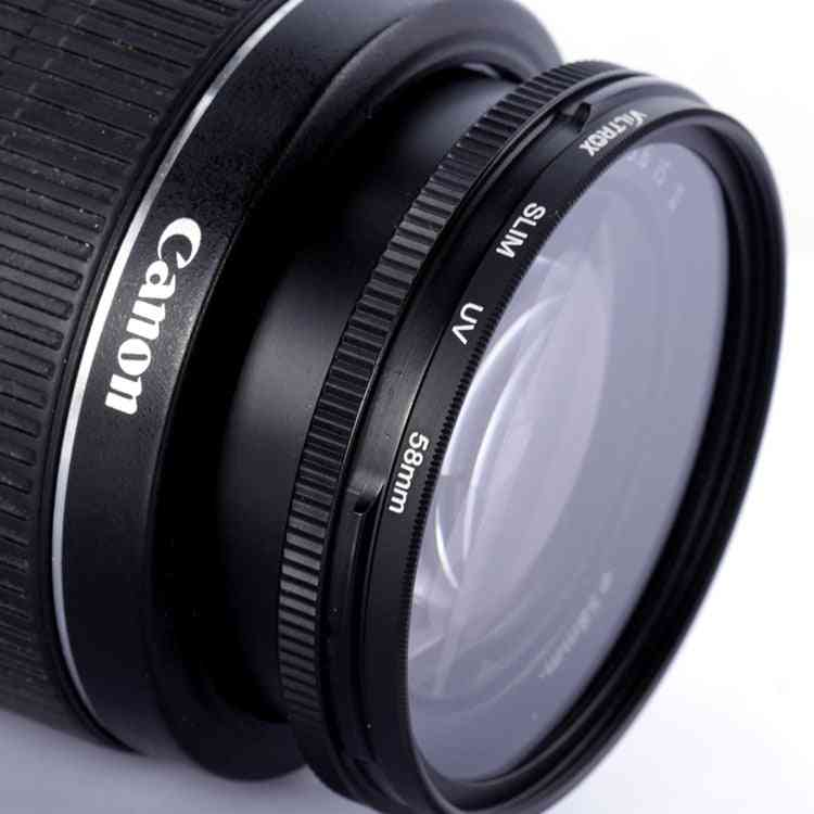 Uv-filter-filtro Lente Protect For Canon / Nikon / Sony Dslr