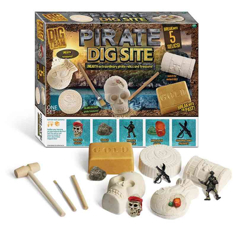 Mixed Wool Ore Excavate, Dig-out Discover Mineral Mine - Early Development Education For