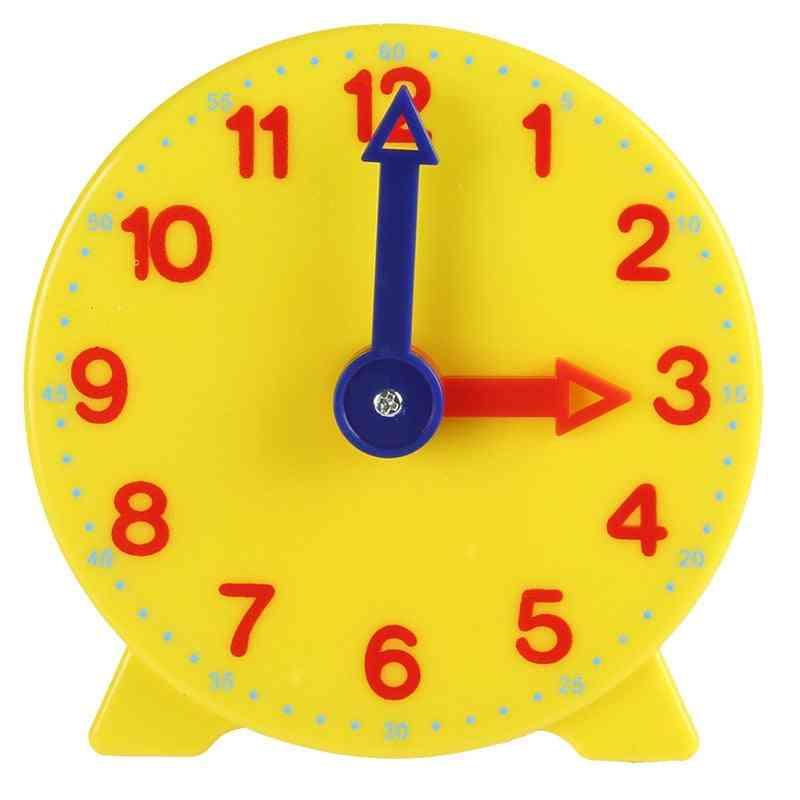 Educational Alarm Clock Kids, Time Learning Clock Education Montessori Toy