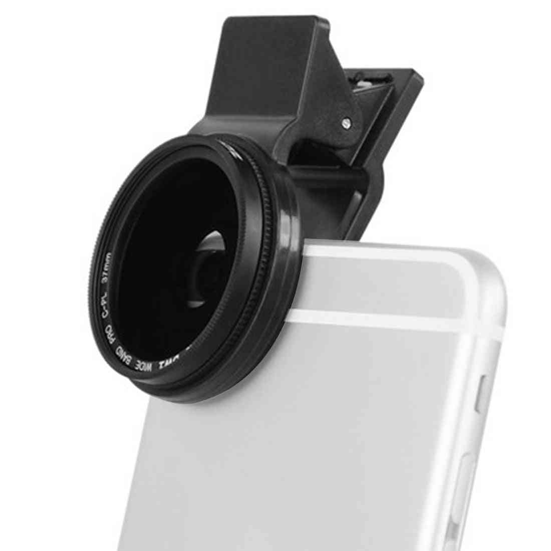 Professional Phone-camera Circular-polarizer Cpl-lens For Iphone 7 6s Plus Samsung Galaxy Huawei Htc Windows Android