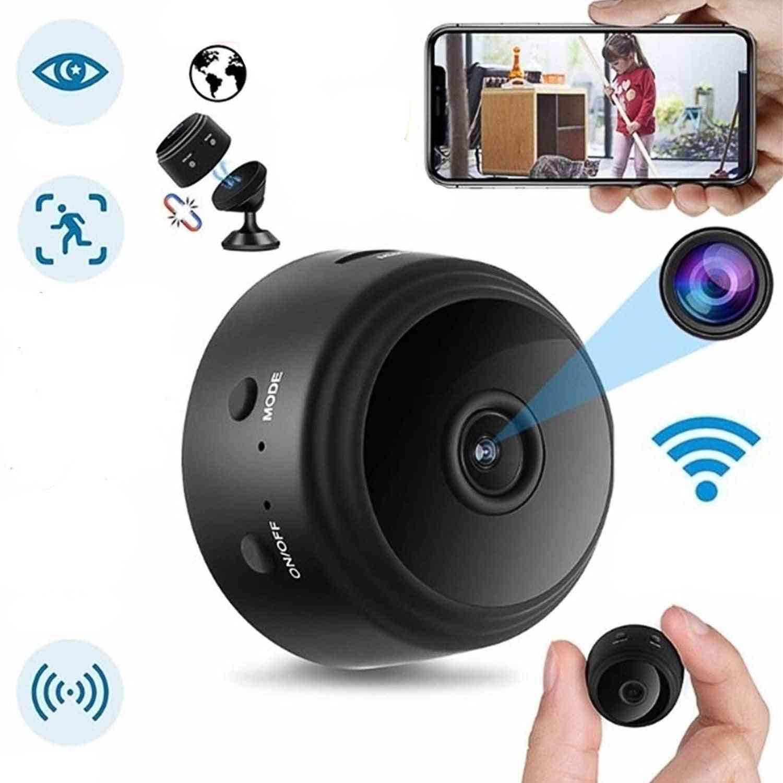 Mini Home-security-camera-a9 1080p Hd, Wifi Ir Night Vision