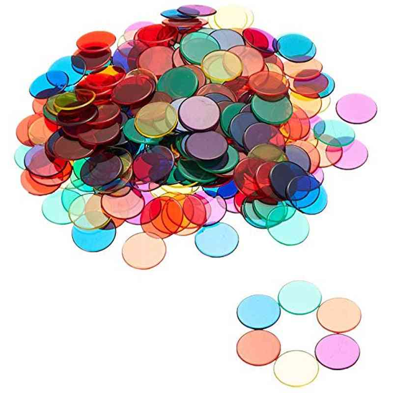 Montessori Learning Education Math, Learning Resources Coin Bingo Chip