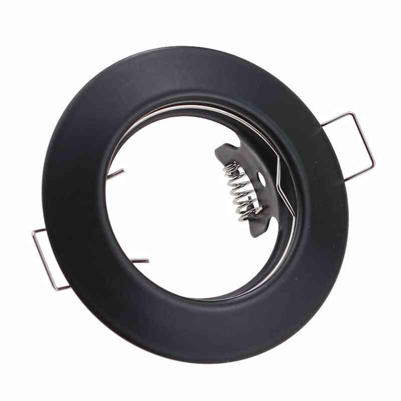 Hight Quality Round Black Led Ceiling Light Frame