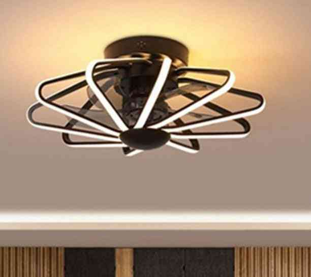 Fan With Lamp For Home Living Room, Restaurant, Bedroom With Remote Control