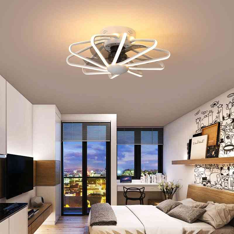 Ceiling Fan With Light For Living Room - Ac220v Pure Copper Motor