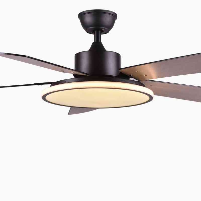 Led Ceiling Fan With Light - For Modern Dinning Room