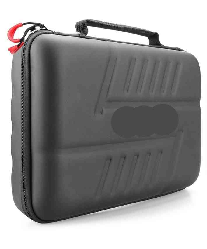 Large Waterproof Carrying Case Pu For Action Camera