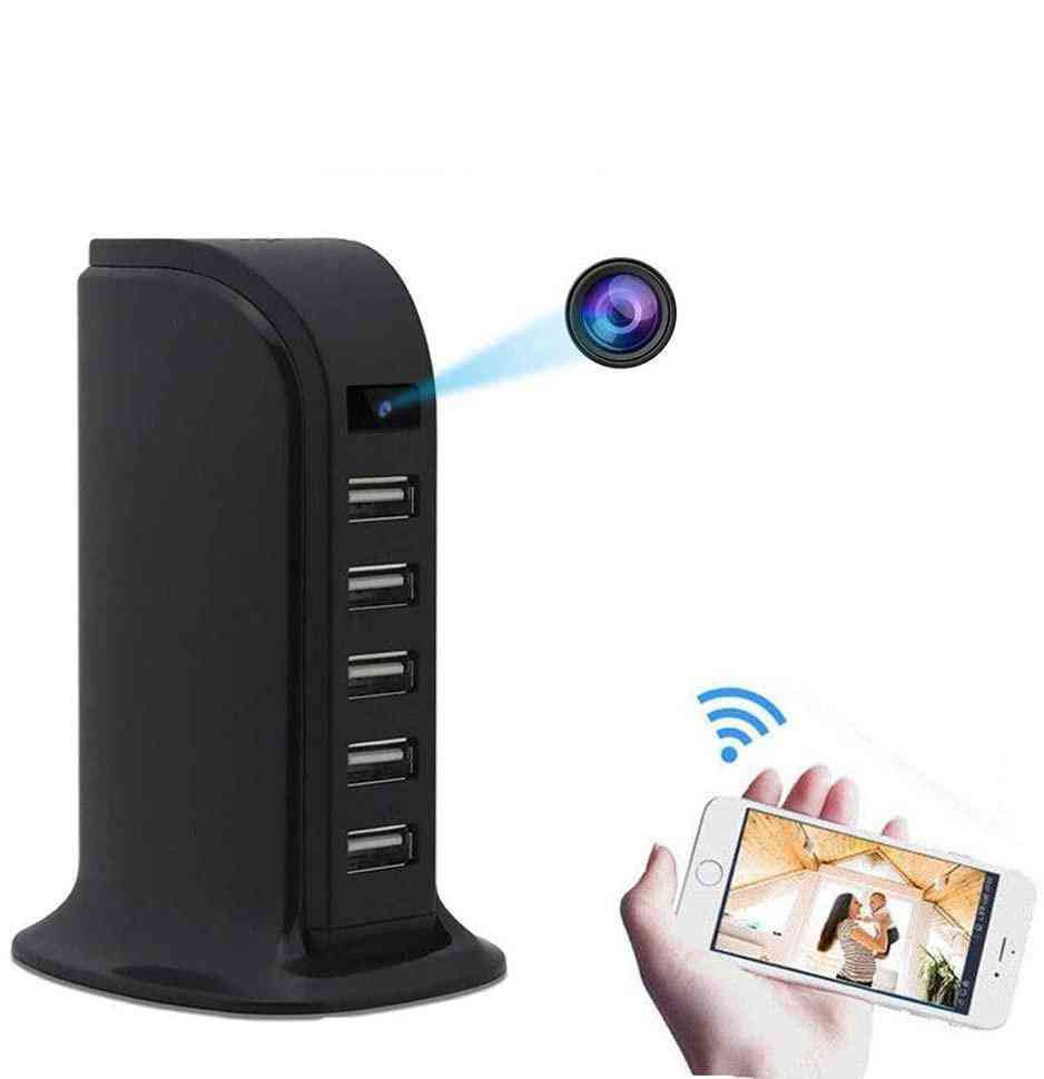 1080p Hd 4k Mini Wifi Camera With Multiple Charging Ports
