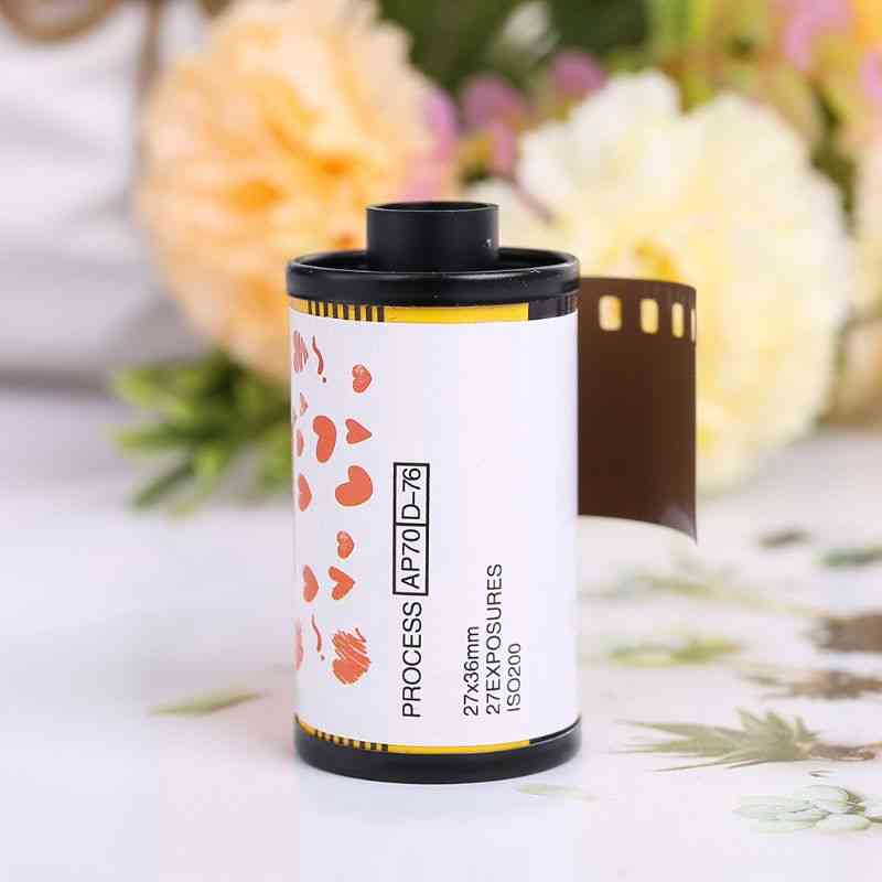 35mm Color Print Film 135 Format Camera