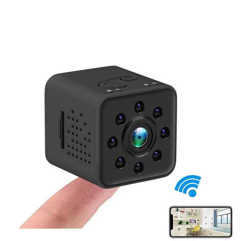 Upgrad Version- Full Hd, Wifi Mini Ip Camera-support Motion Detection
