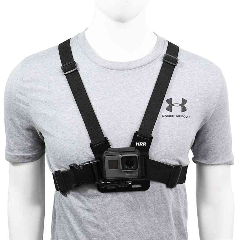 Durable And Light Weight, Adjustable Chest Strap For Action Camera