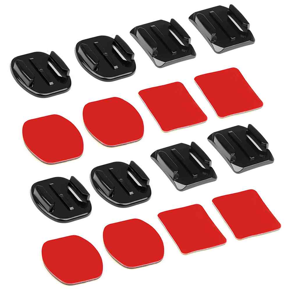 Flat Curved Base Mount And Adhesive Stickers Mount