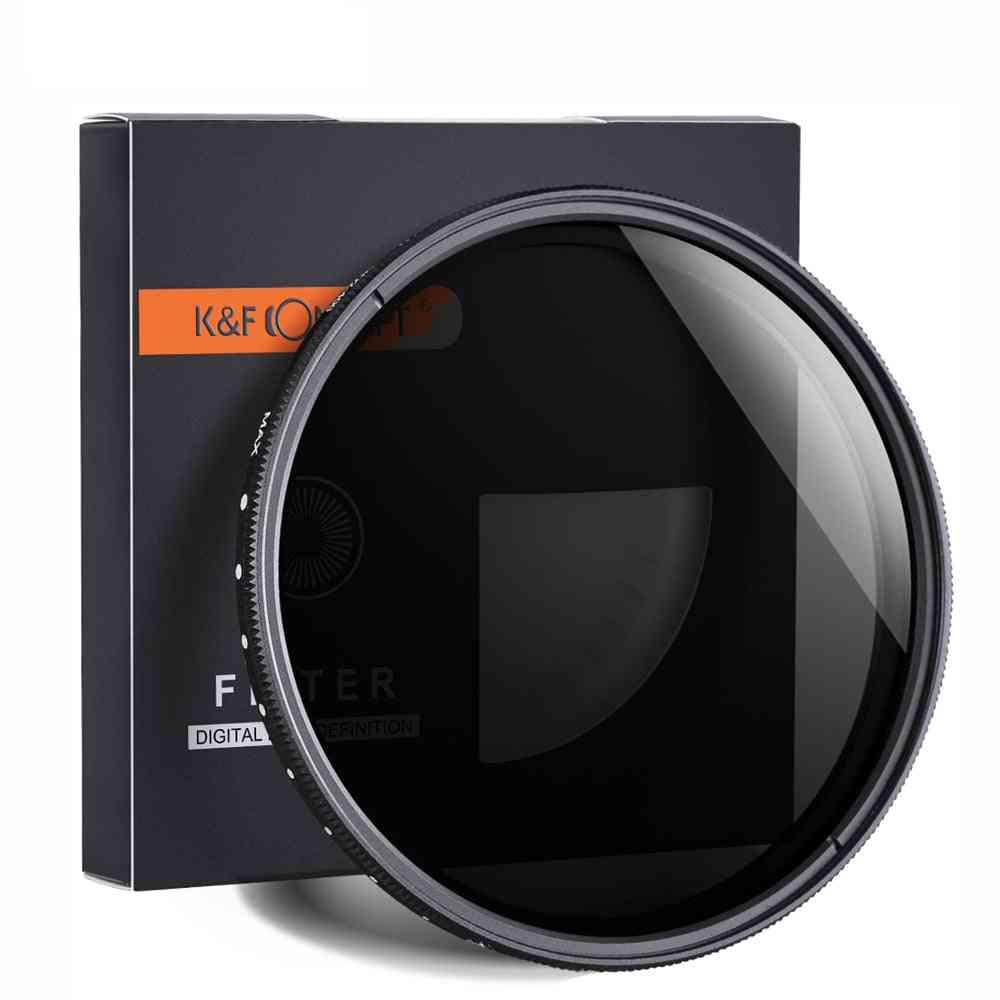 Adjustable Neutral Density Fader - Variable Camera Lens Filter