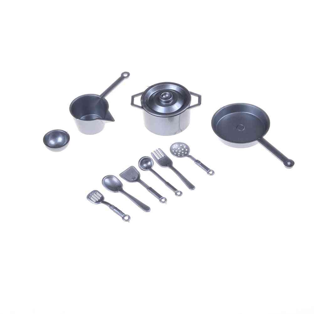 10pcs/lot Mini Tableware Miniature Figure - Kitchen Set Doll Accessories