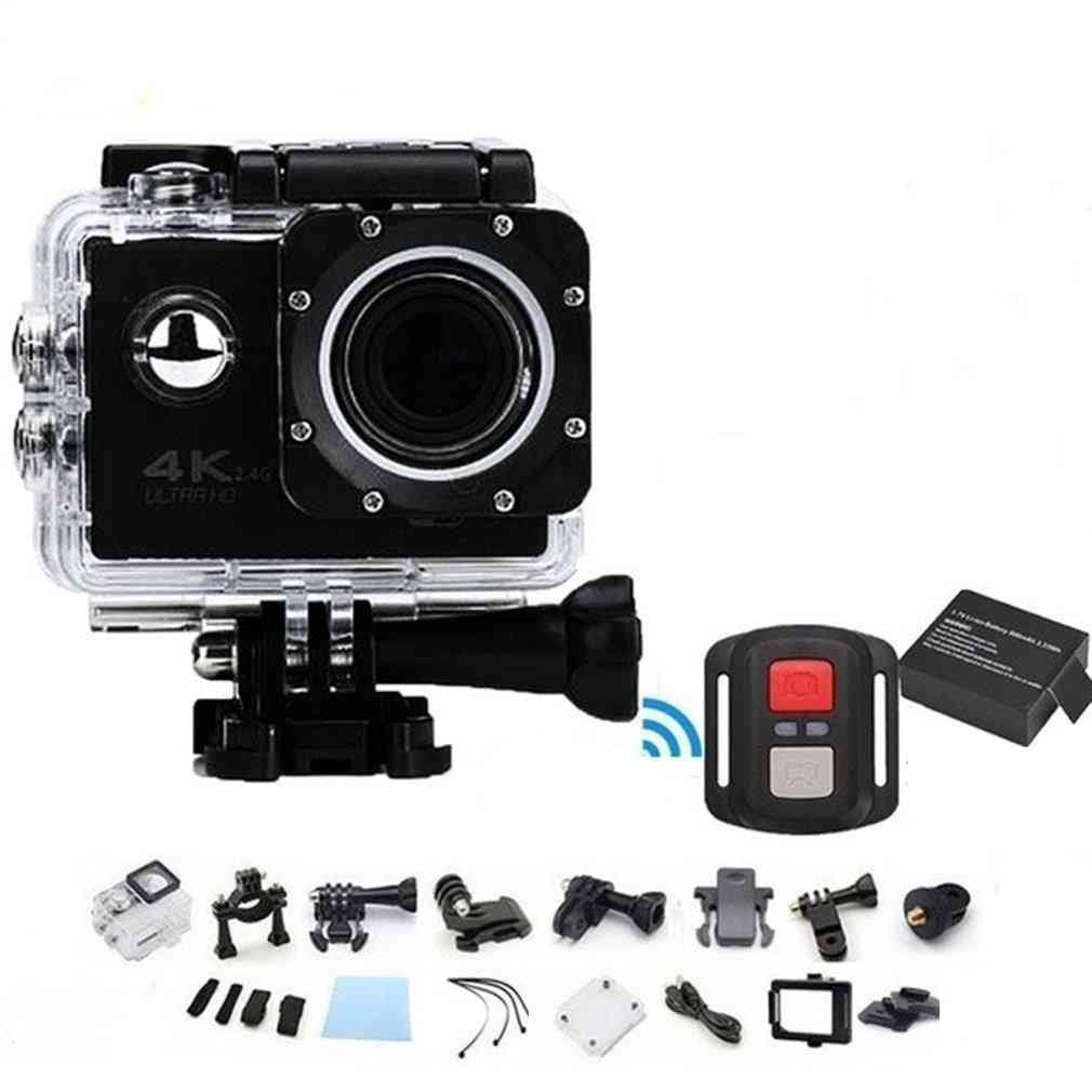 Professional, Waterproof, Sport, Action Telecomando Camera-4k Wifi, Ultra Hd 16mp