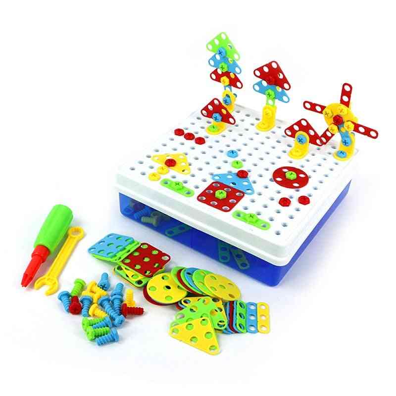 Drill Screw Nut Puzzle Toy