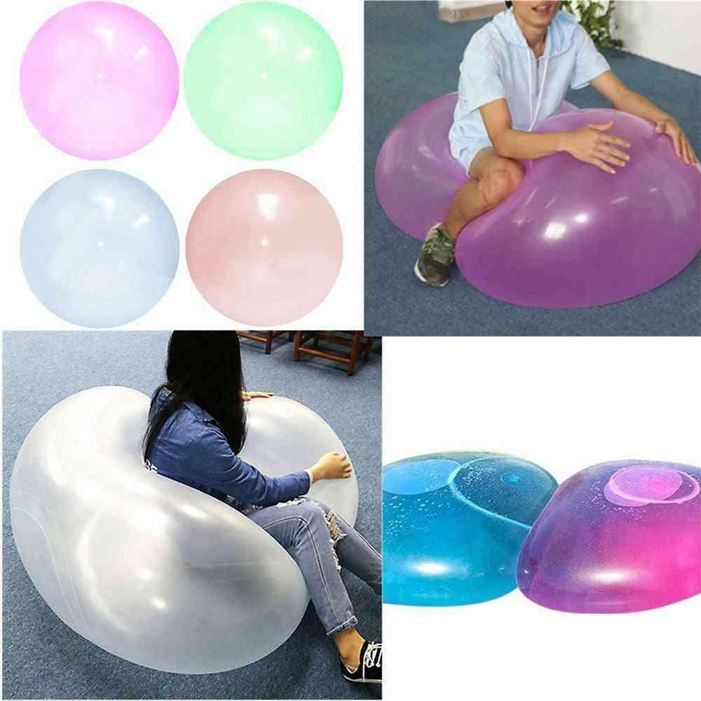 Durable Bubble Inflatable Fun Ball, Amazing Tear-resistant Super Wubble Bubble Ball, Inflatable Outdoor Balls