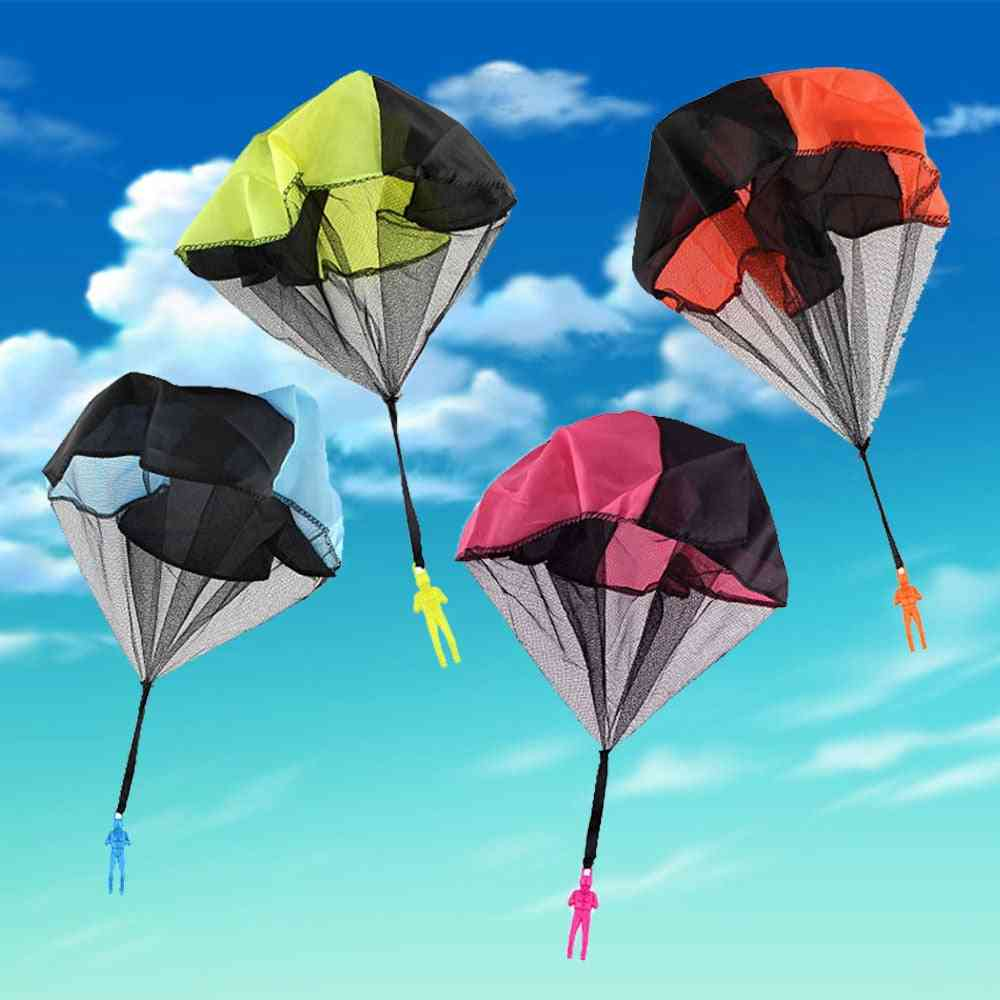 Hand Throwing Mini Soldier Parachute