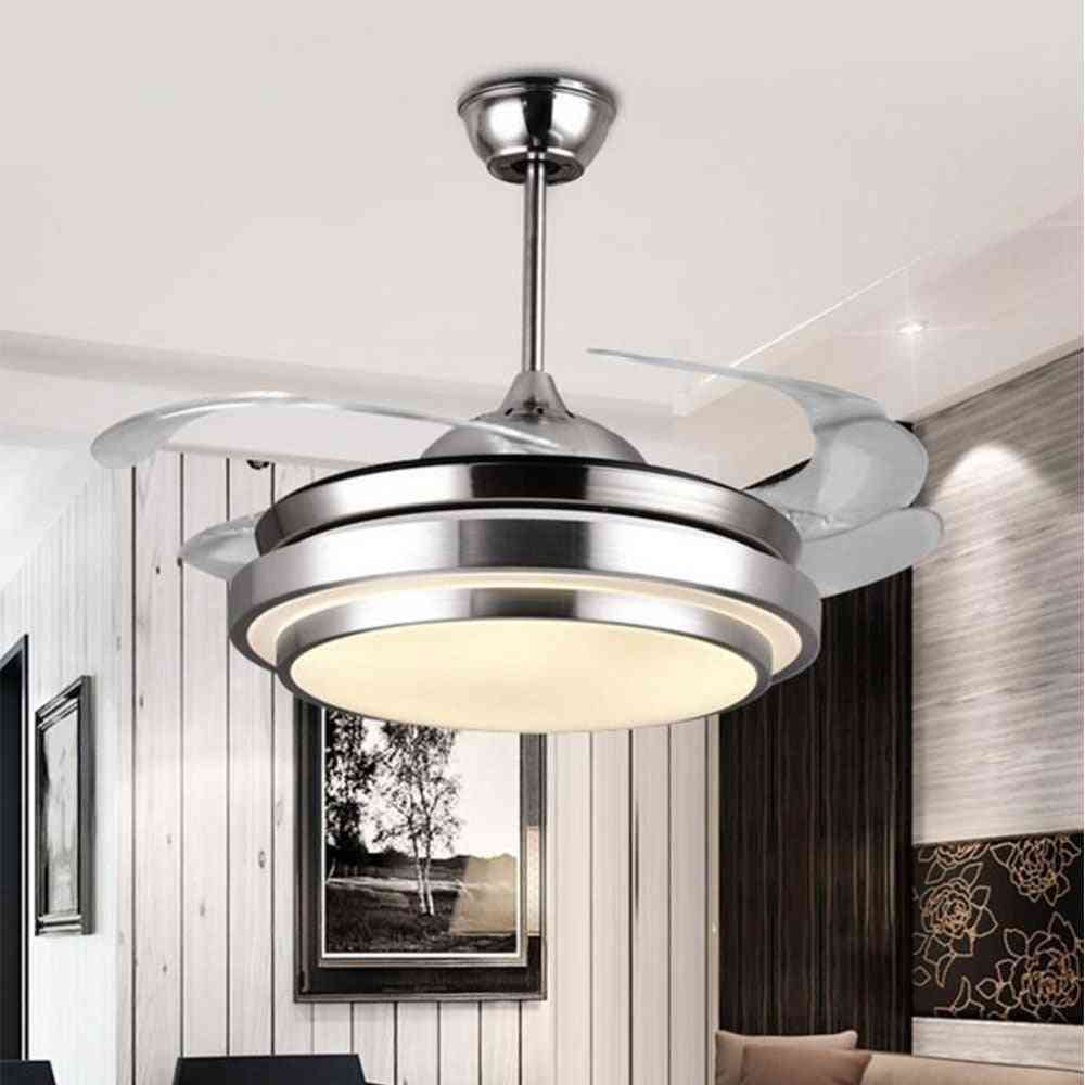 Modern Ceiling Fan Lights Lamp, With Remote Control