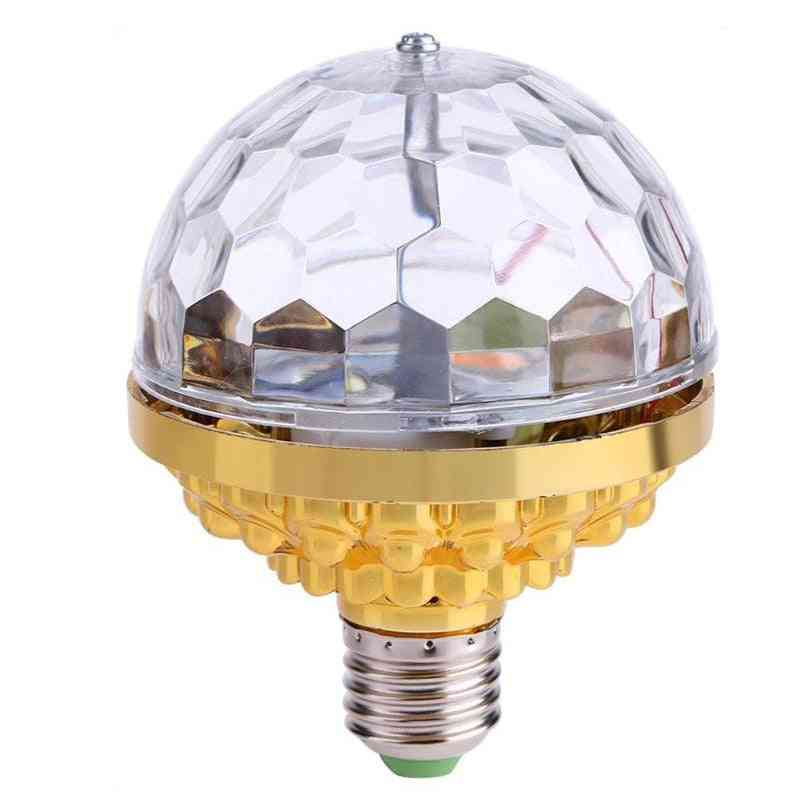 6w Rotating, Crystal Magic Ball-led Stage Light Bulb