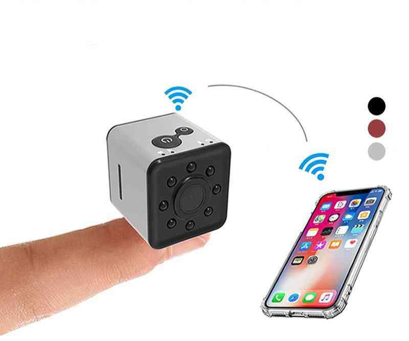 Hd Wifi Small Mini Ip Camera-motion Sensor
