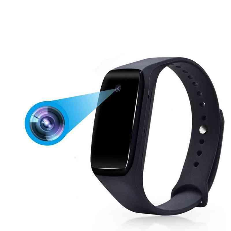 Smart Wearable Bracelet With Hd1080p Camera