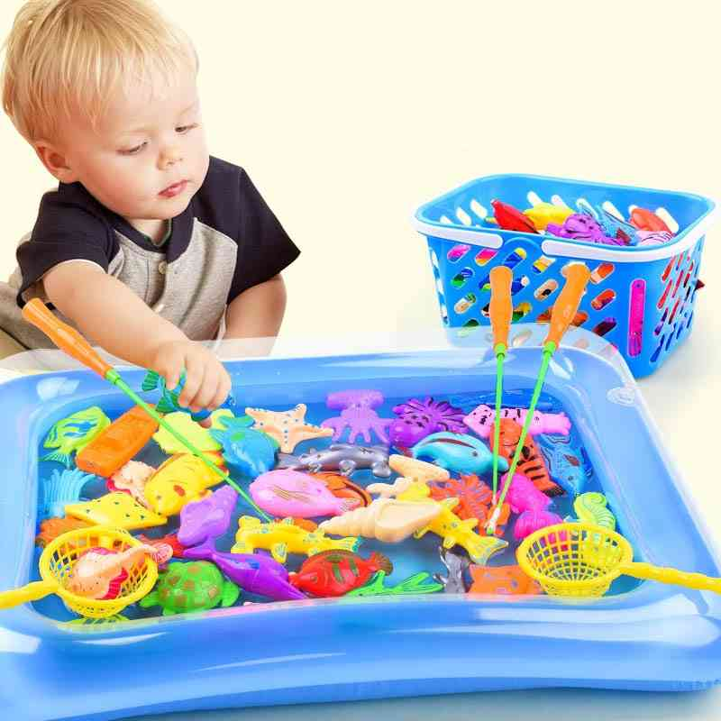 Magnetic Fishing, Parent-child Interactive-baby Bath Games