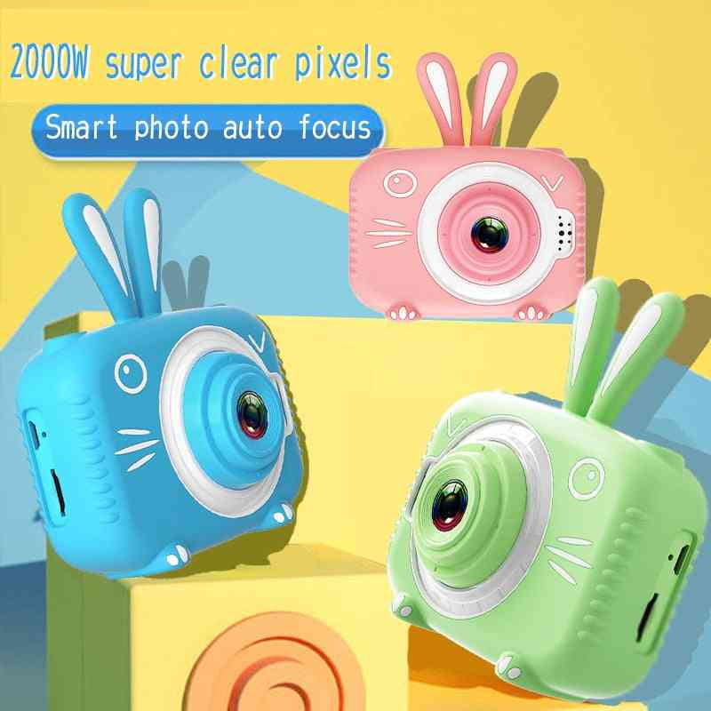 Kids Photo Camera With Cartoon Protective Case Mini Digital Camera For And