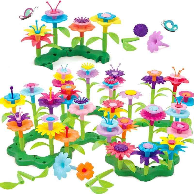 Creative Dream Garden Series - Interconnecting Blocks Handwork